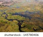 okavango delta from the air | Shutterstock . vector #145780406