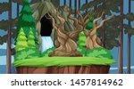 nature scene landscape template ... | Shutterstock .eps vector #1457814962
