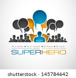 worldwide communication and... | Shutterstock . vector #145784642