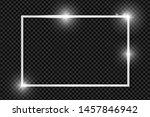 platinum shiny glowing vintage...   Shutterstock .eps vector #1457846942
