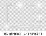 silver shiny glowing vintage...   Shutterstock .eps vector #1457846945