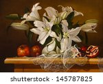 Still Life Lily Flowers