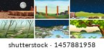 natural environment lanscape... | Shutterstock .eps vector #1457881958