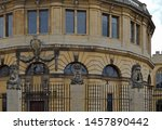 Entrance To The Sheldonian...