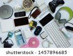 Many Used Modern Electronic...