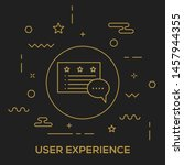 user experience and...
