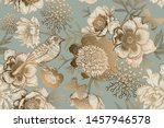 luxury ornate pattern for... | Shutterstock .eps vector #1457946578
