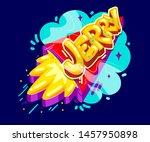 jerry name graffiti style on...