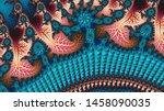 fractal a never ending pattern. ...   Shutterstock . vector #1458090035