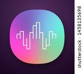 geometric music wave app icon....