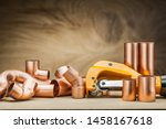 Set Of Copper Pipe Fittings An...