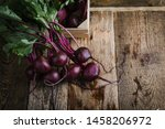 Fresh Homegrown Beetroots On...