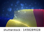 vector bright glowing country... | Shutterstock .eps vector #1458289028