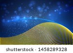 vector bright glowing country... | Shutterstock .eps vector #1458289328