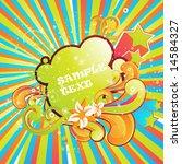 abstract vector illustration... | Shutterstock .eps vector #14584327