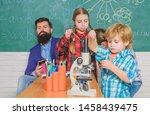 pupil looking through... | Shutterstock . vector #1458439475