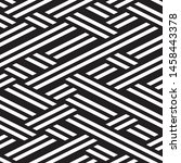 repeated monochrome pattern.... | Shutterstock .eps vector #1458443378