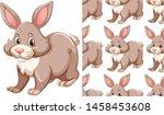 seamless design pattern...   Shutterstock .eps vector #1458453608