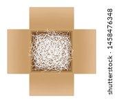 white shredded paper in...   Shutterstock .eps vector #1458476348
