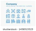 company icons set. ui pixel...