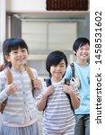elementary school student... | Shutterstock . vector #1458531602