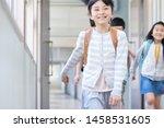 elementary school student... | Shutterstock . vector #1458531605
