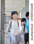 elementary school student... | Shutterstock . vector #1458531608