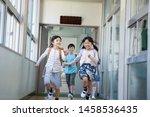 elementary school student... | Shutterstock . vector #1458536435