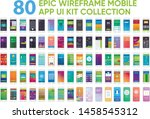 80 epic wireframe mobile app ui ...