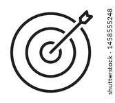 target icon design. dartboard...