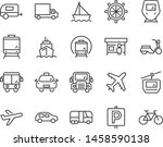 set of transport icons  such as ... | Shutterstock .eps vector #1458590138