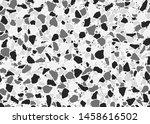 terrazzo flooring pattern.... | Shutterstock .eps vector #1458616502