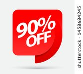 sale of special offers.... | Shutterstock .eps vector #1458684245