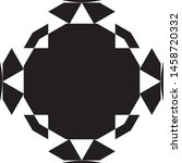 clock dial honeycomb impression ... | Shutterstock .eps vector #1458720332
