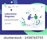 landing page laboratory...