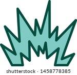 blast icon in trendy style... | Shutterstock .eps vector #1458778385