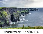 cliffs of moher in county clare ... | Shutterstock . vector #145882316