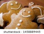 Homemade Gingerbread Men In Th...