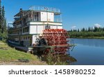 Tourists Boarding A Sternwheel...