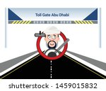 Arab Character Driving While...