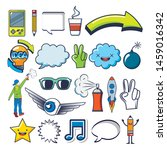 bundle of creative photographic ...   Shutterstock .eps vector #1459016342