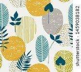 abstract autumn seamless...   Shutterstock .eps vector #1459038182