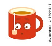 red cup character isolated on...   Shutterstock .eps vector #1459044845