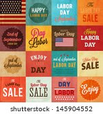 American Labor Day Designs Set...