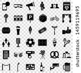occasion icons set. simple... | Shutterstock .eps vector #1459119695