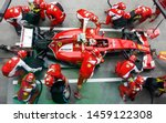 Sepang  Malaysia   Ferrari Team ...