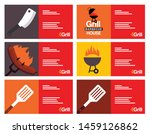 grill house  barbecue   grill ... | Shutterstock .eps vector #1459126862
