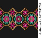 tribal seamless colorful... | Shutterstock .eps vector #1459130708