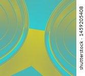 shiny gradient art and 3d... | Shutterstock . vector #1459205408