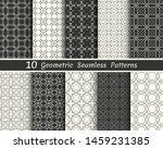 set of seamless geometric... | Shutterstock .eps vector #1459231385